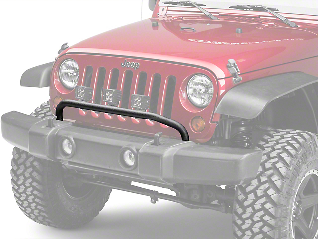 Mopar Front Light Bar (07-18 Wrangler JK) & Mopar Wrangler Front Light Bar 123220RR (07-17 Wrangler JK) - Free ...
