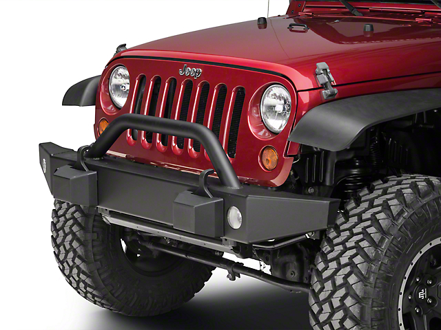 Mopar Front Off-Road Bumper w/o Winch Mount (07-18 Jeep Wrangler JK)