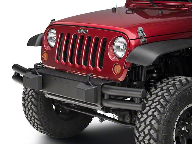 Mopar Tubular Front Bumper - Black (07-18 Jeep Wrangler JK)