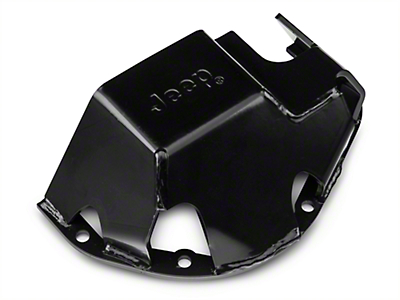 Mopar Differential Skid Plate w/ Jeep Logo for Dana 44 (87-18 Wrangler YJ, TJ & JK)