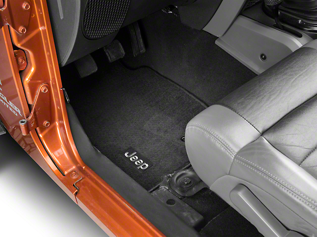 Mopar Jeep Wrangler Premium Carpet Front Amp Rear Floor Mats