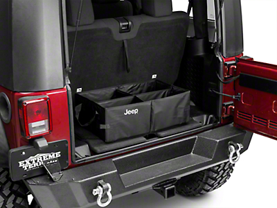 Mopar Collapsible Cargo Tote w/ Jeep Logo