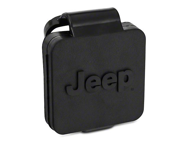 Mopar 2 in. Hitch Receiver Plug w/ Jeep Logo (87-19 Jeep Wrangler YJ, TJ, JK & JL)