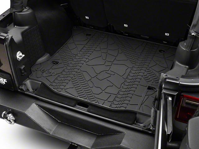 Mopar Cargo Liner without Subwoofer Cutout (12-18 Jeep Wrangler JK 4 Door)