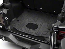 Mopar Cargo Liner with Subwoofer Cutout (15-18 Jeep Wrangler JK 4 Door)
