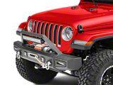 Barricade Vision Series Front Bumper with LED Fog Lights, Work Lights and 20-Inch LED Light Bar (18-20 Jeep Wrangler JL)