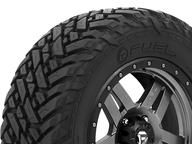 Fuel Wheels Mud Gripper M/T Tire (Available in Multiple Sizes)