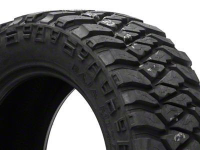Mickey Thompson Baja MTZP3 Radial Tire w/OWL, - 33x12.50R15LT