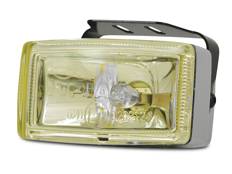 PIAA 2000 Series Ion Yellow Halogen Light; Fog Beam (87-20 Jeep Wrangler YJ, TJ, JK & JL)