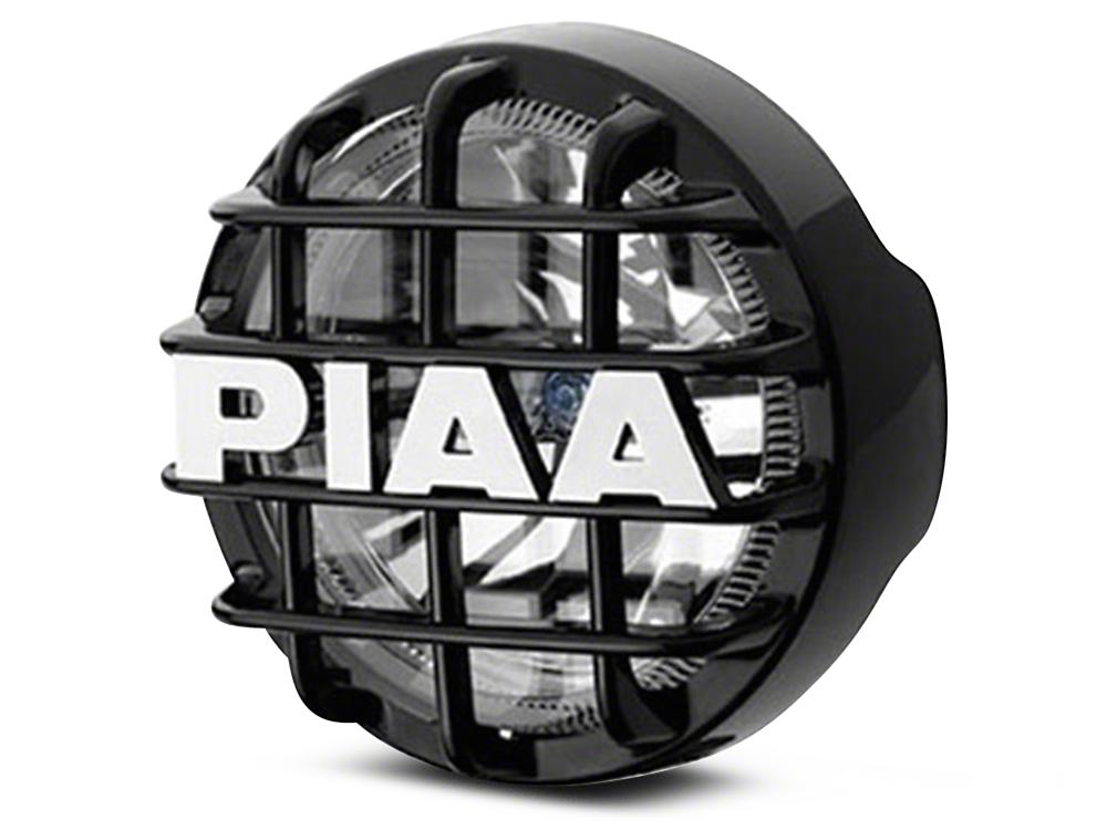 PIAA 510 Series 4 in. Round Xtreme White SMR Light - Fog Beam (87-18 Wrangler YJ, TJ, JK & JL)