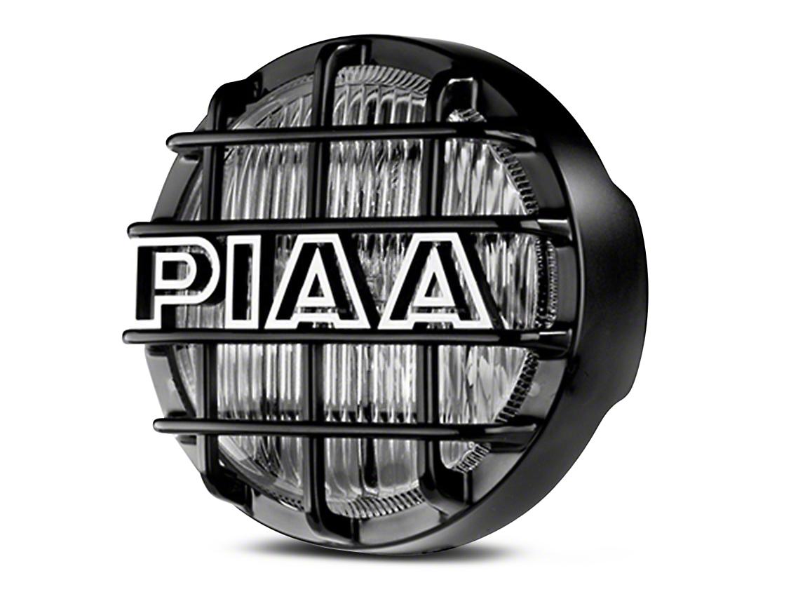 PIAA 540 Series 5 in. Round Ion Yellow Halogen Light - Fog Beam (87-18 Jeep Wrangler YJ, TJ, JK & JL)