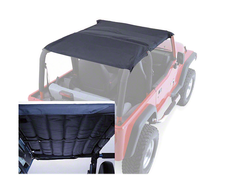 Rugged Ridge Acoustic Island Topper - Black Denim (97-06 Wrangler TJ)