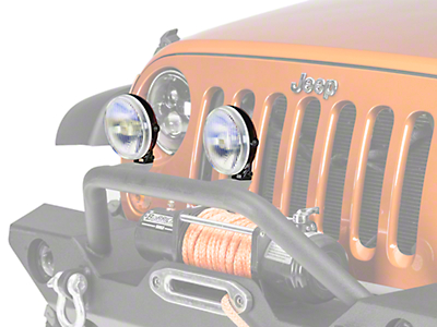 PIAA 540 Series Replacement 5 in. Ion Yellow Fog Light Lens/Reflector (87-18 Wrangler YJ, TJ, JK & JL)