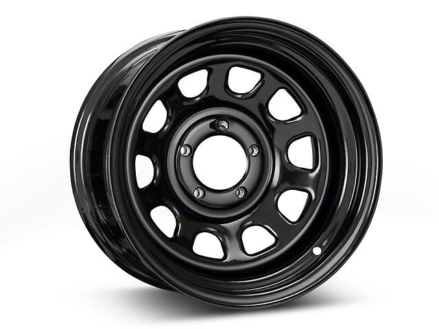 Pro Comp Wheels Steel Series 51 District Gloss Black Wheel - 15x8 (87-95 Jeep Wrangler YJ)