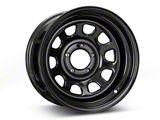 Pro Comp Wheels Steel Series 51 District Gloss Black Wheel; 15x8 (87-95 Jeep Wrangler YJ)