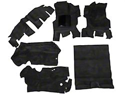 OPR Complete Molded Replacement Carpet; Agate (97-02 Jeep Wrangler TJ)