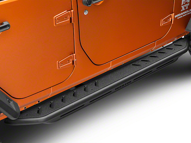 Snyper Triple Tube Rock Rails; Textured Black (07-18 Jeep Wrangler JK 4 Door)
