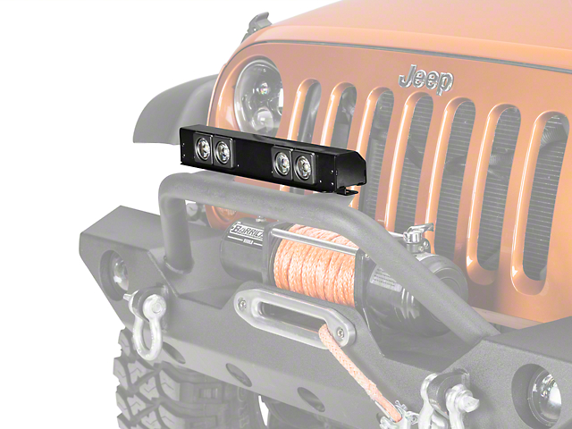 Delta 16-Inch LED Front Light Bar