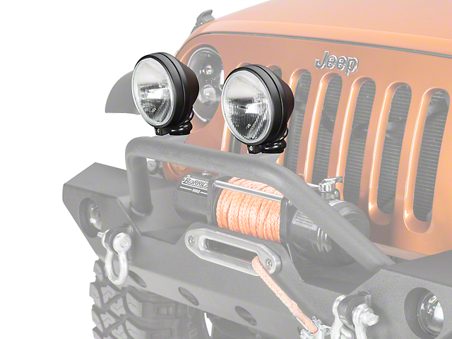 Delta 505 Series H.I.D. Light Kit - 35 Watt H.I.D. - Pair (87-19 Jeep Wrangler YJ, TJ, JK & JL)