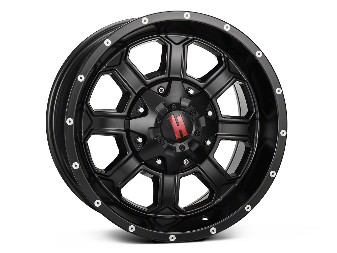 Havok Off-Road H-101 Matte Black Wheel - 18x9 (07-17 Wrangler JK)