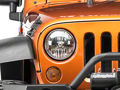 Delta Headlight LED Conversion Kit - H13 (07-18 Wrangler JK)