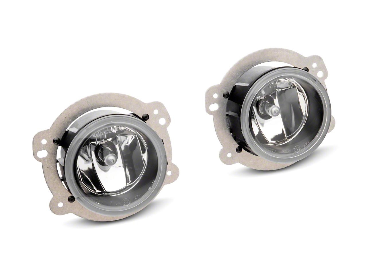 Delta 3088 Series 3.5 in. Xenon Bumper Fog Light Kit (07-18 Wrangler JK)