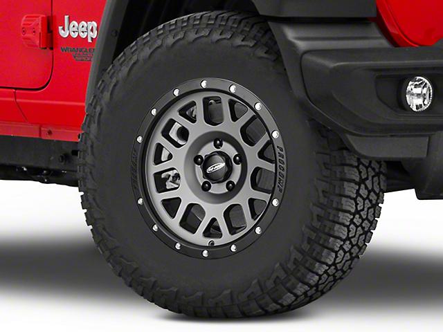 Pro Comp Wheels Vertigo Matte Graphite Wheel - 17x9 (18-20 Jeep Wrangler JL)