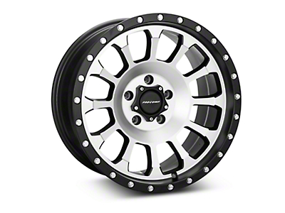 Pro Comp Alloy Series 34 Rockwell Black Machined Wheel - 18x9 (07-18 Wrangler JK)