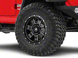 Pro Comp Wheels Inertia Satin Black Milled Wheel; 17x9 (18-20 Jeep Wrangler JL)