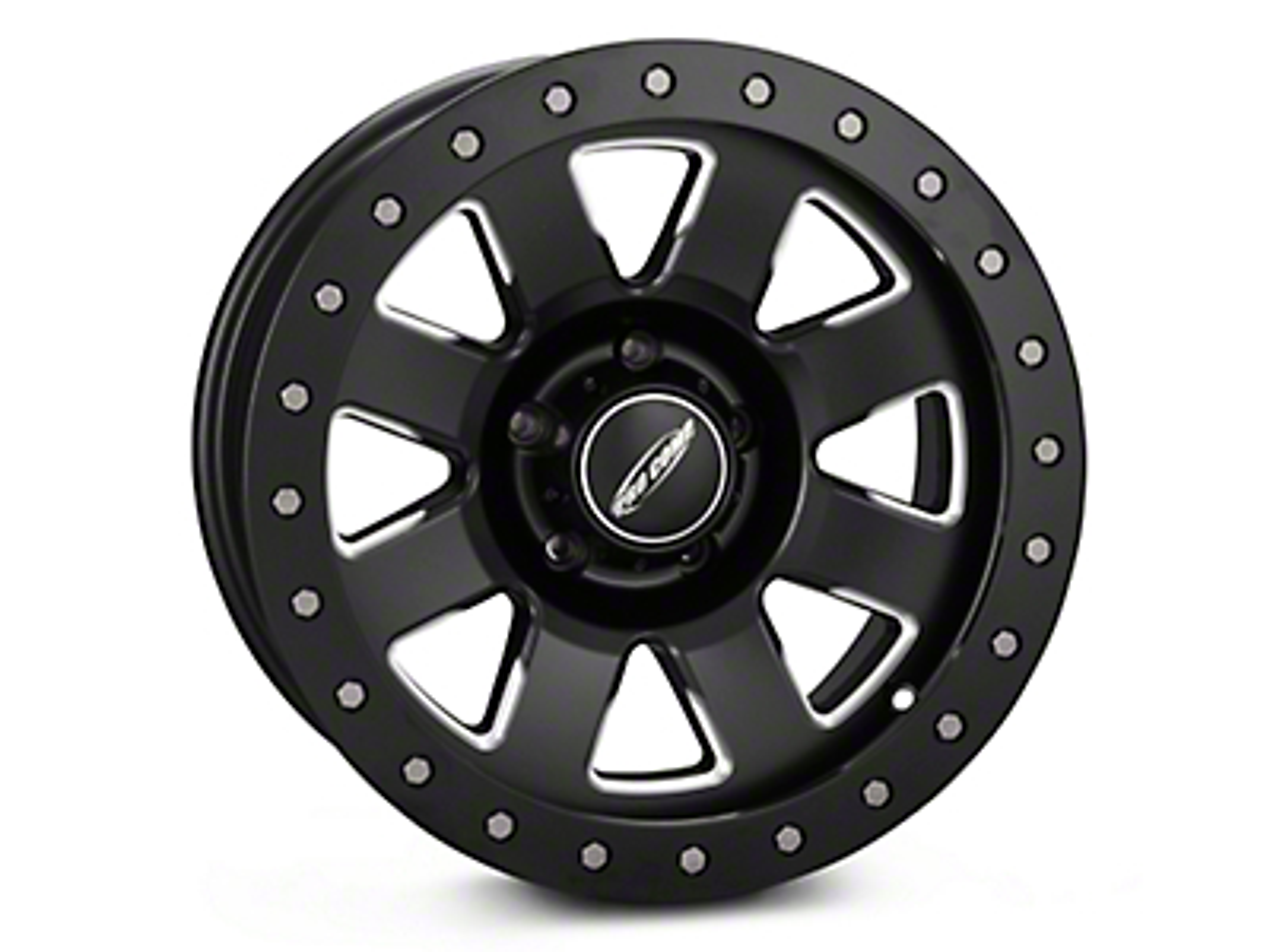 Pro Comp Alloy Series 84 Vapro Pro Satin Black Milled Wheel - 17x9 (07-18 Wrangler JK)