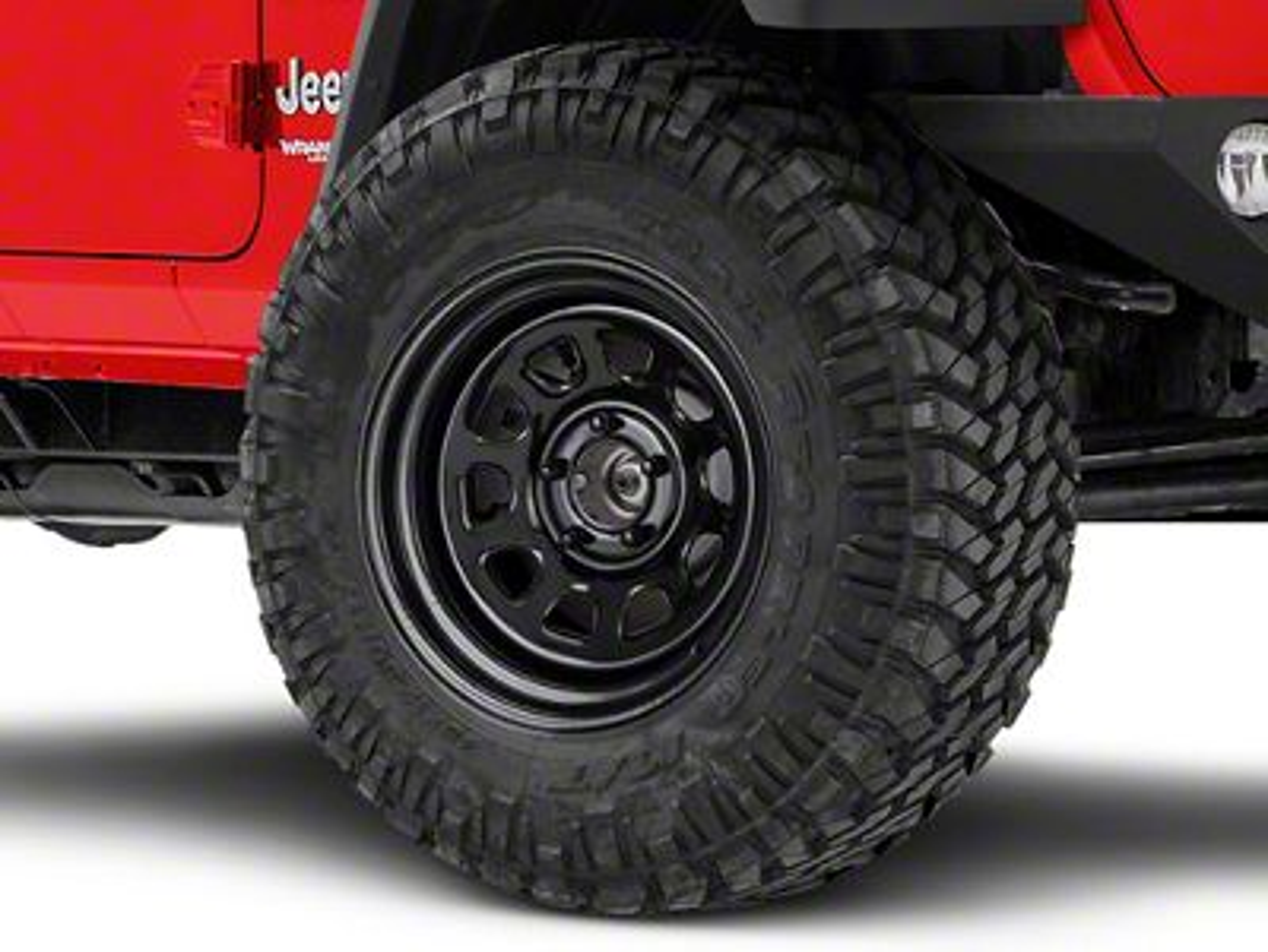 Pro Comp Steel Wheels Jeep Wrangler District Gloss Black Wheel 17x9 51 7973 18 21 Jeep Wrangler Jl