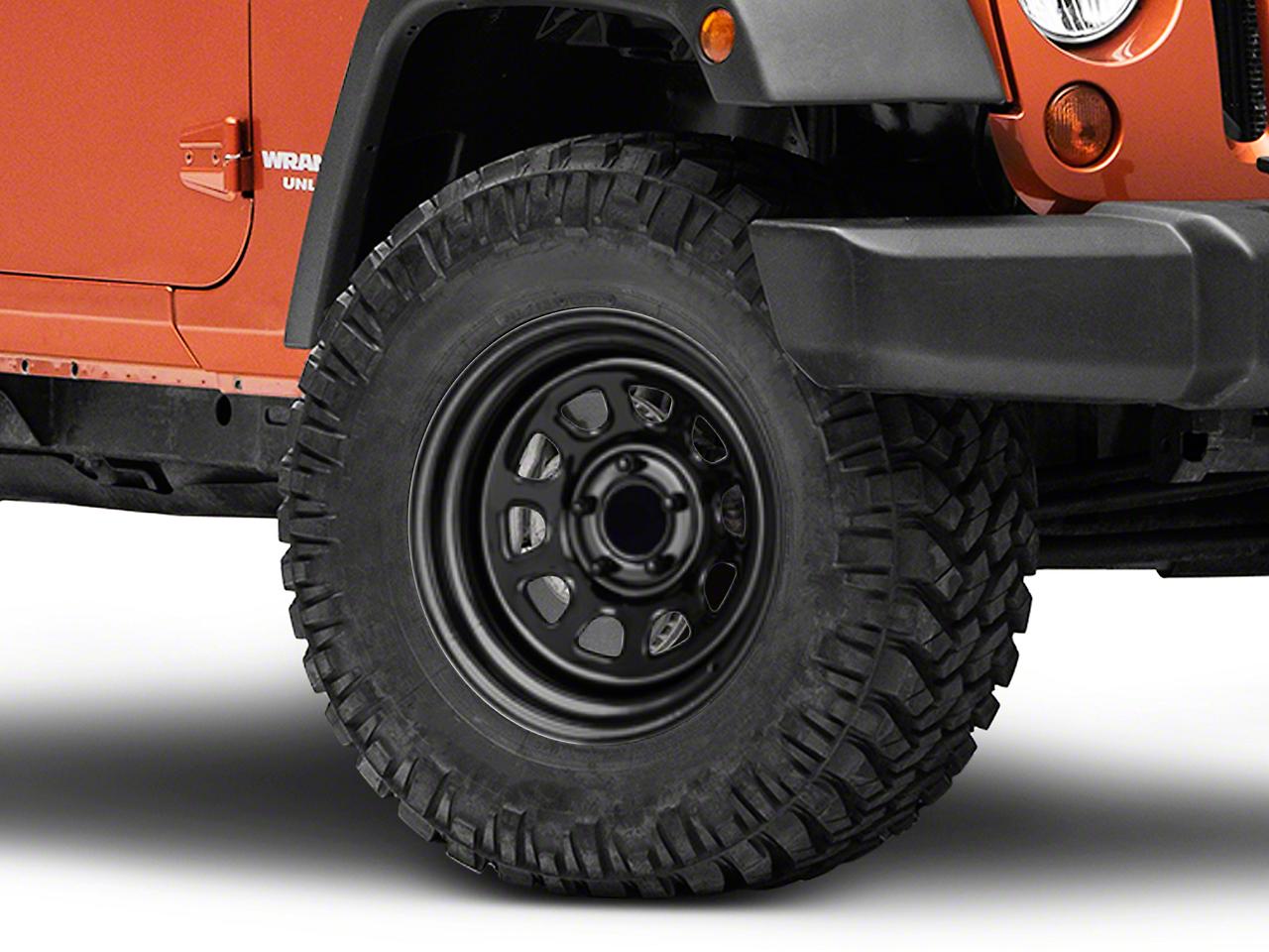Pro Comp Steel Series 51 District Gloss Black Wheel - 17x9 (07-18 Wrangler JK)