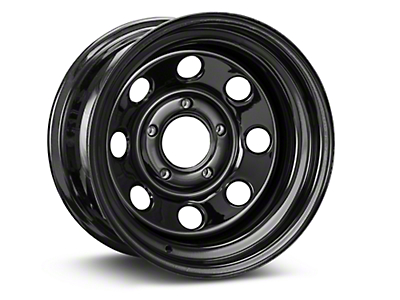 Pro Comp Steel Series 98 Rock Crawler Gloss Black Wheel - 15x8 (07-18 Wrangler JK)
