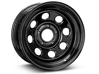 Pro Comp Steel Series 98 Rock Crawler Gloss Black Wheel - 16x8 (07-18 Wrangler JK)