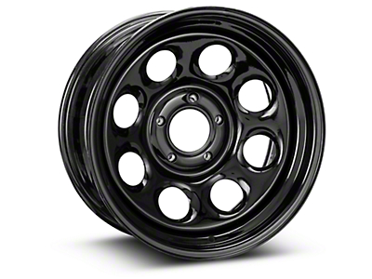 Pro Comp Steel Series 98 Rock Crawler Gloss Black Wheel - 17x8 (07-18 Wrangler JK)