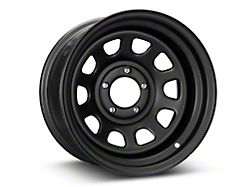 Pro Comp Wheels Steel Series 51 District Flat Black Wheel; 15x8 (87-95 Jeep Wrangler YJ)
