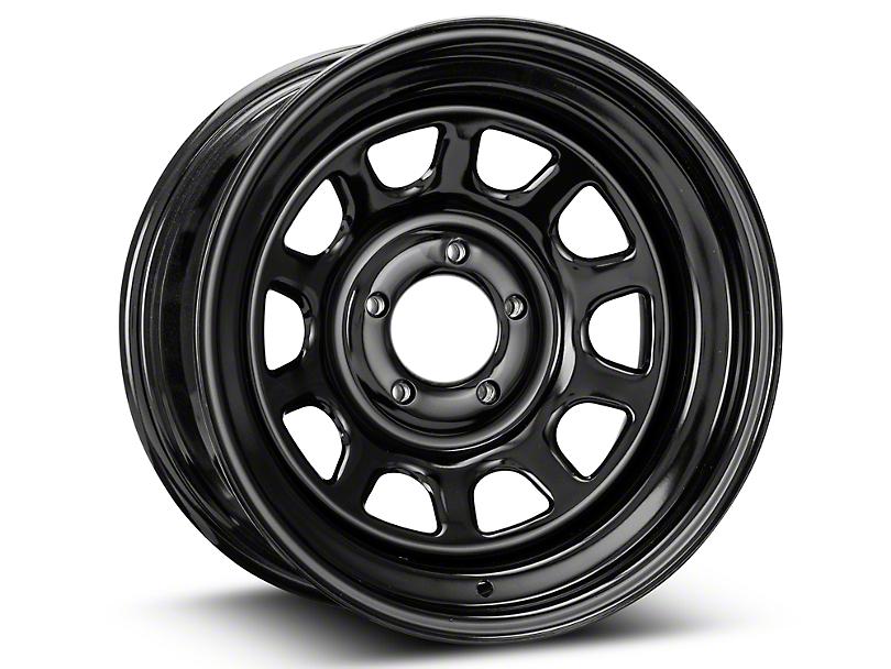 Pro Comp Wheels 52 Series Rock Crawler Rock Crawler Gloss Black Wheel - 16x8 (87-06 Jeep Wrangler YJ & TJ)