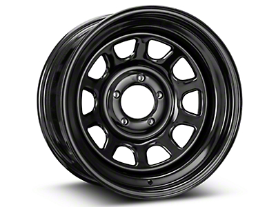Pro Comp Steel Series 52 Rock Crawler Gloss Black Wheel - 16x8 (87-06 Jeep Wrangler YJ & TJ)