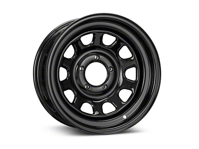 Pro Comp Wheels 52 Series Rock Crawler Rock Crawler Gloss Black Wheel - 15x7 (87-06 Jeep Wrangler YJ & TJ)
