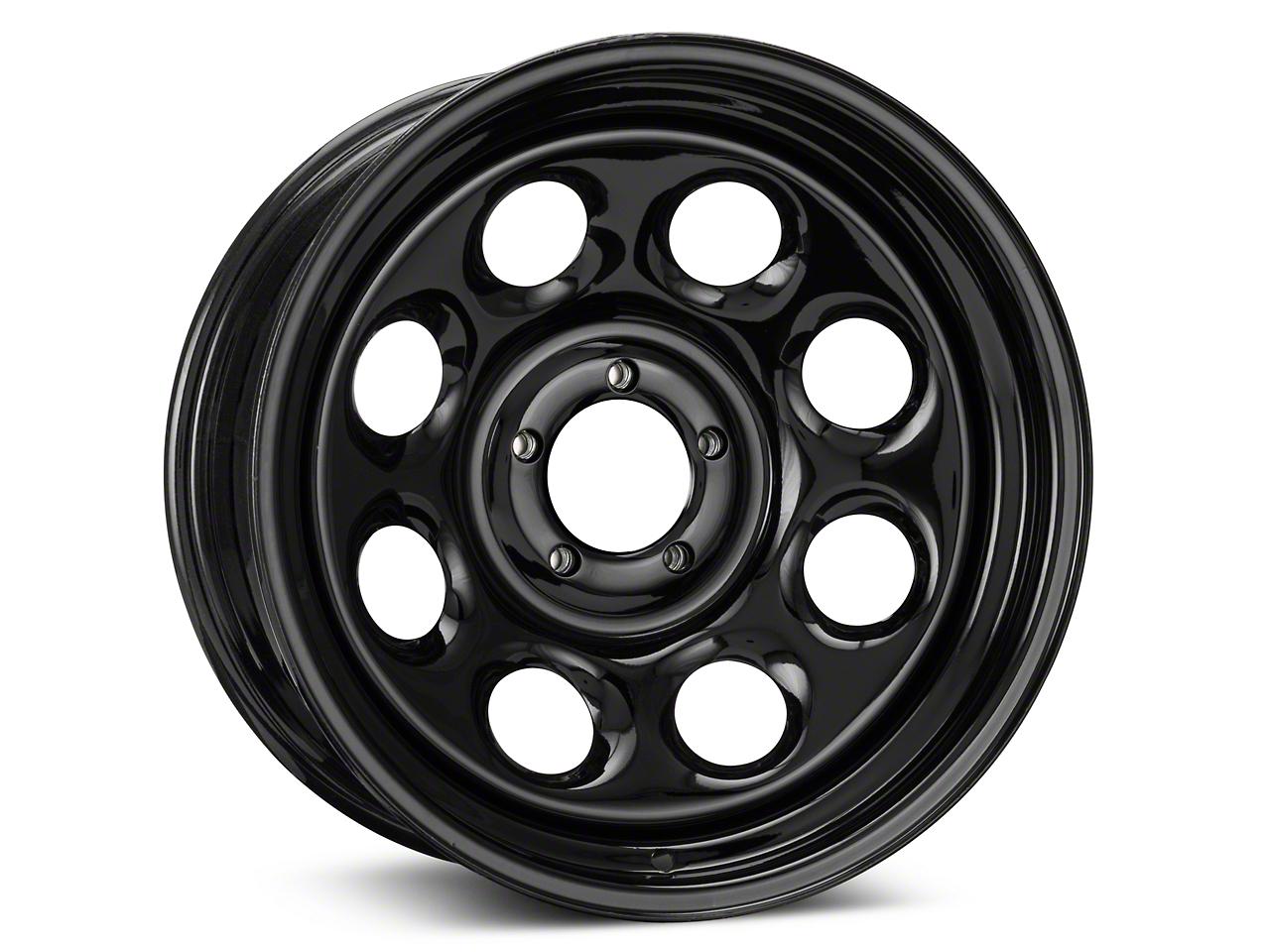 Pro Comp Steel Series 98 Rock Crawler Gloss Black Wheel - 17x8 (87-06 Wrangler YJ & TJ)