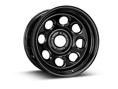 Pro Comp Steel Series 98 Rock Crawler Gloss Black Wheel - 17x9 (87-06 Wrangler YJ & TJ)