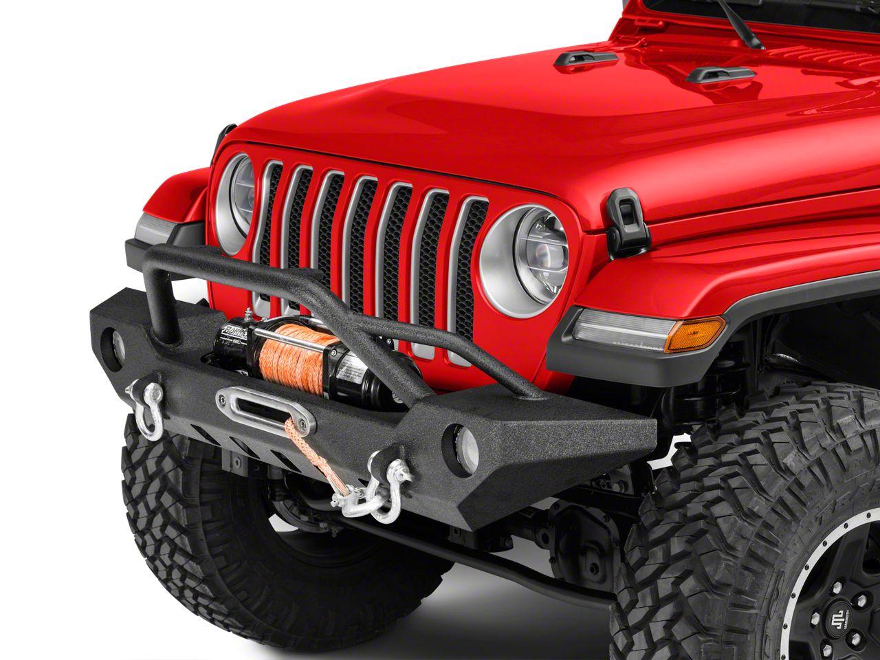 Barricade Adventure HD Front Bumper (18-19 Jeep Wrangler JL)