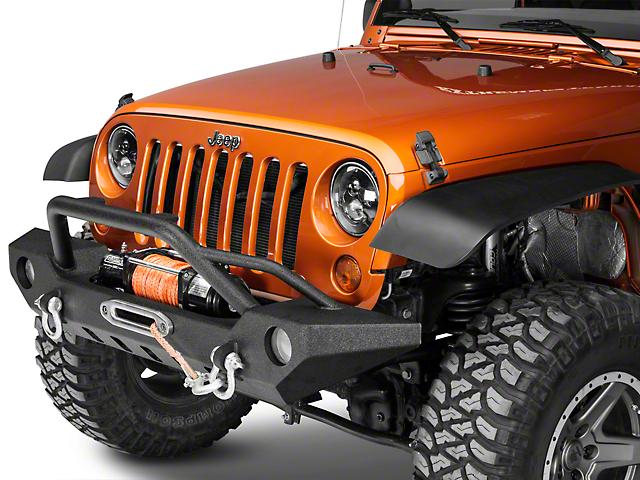 Lovely Barricade Adventure HD Front Bumper (07 18 Jeep Wrangler JK)