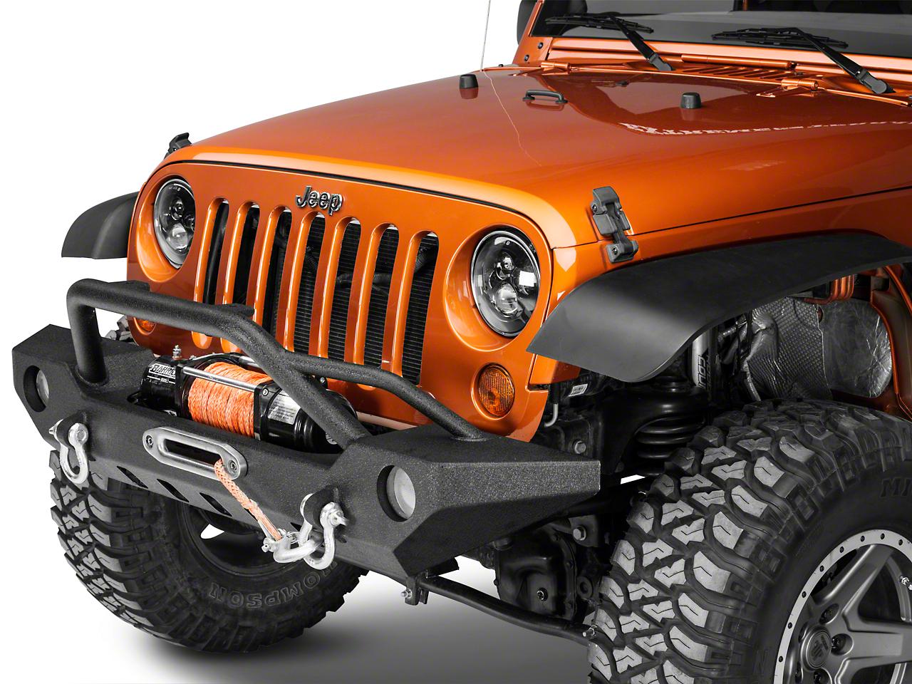 Barricade Adventure HD Front Bumper (07-18 Wrangler JK)
