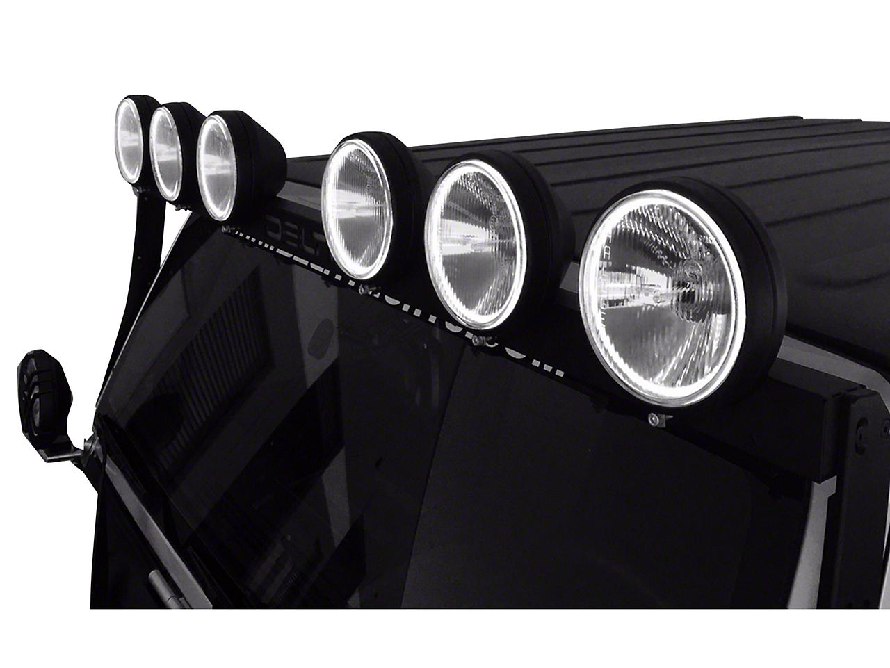 Delta BOLT 500 LED SkyBar (07-18 Wrangler JK)