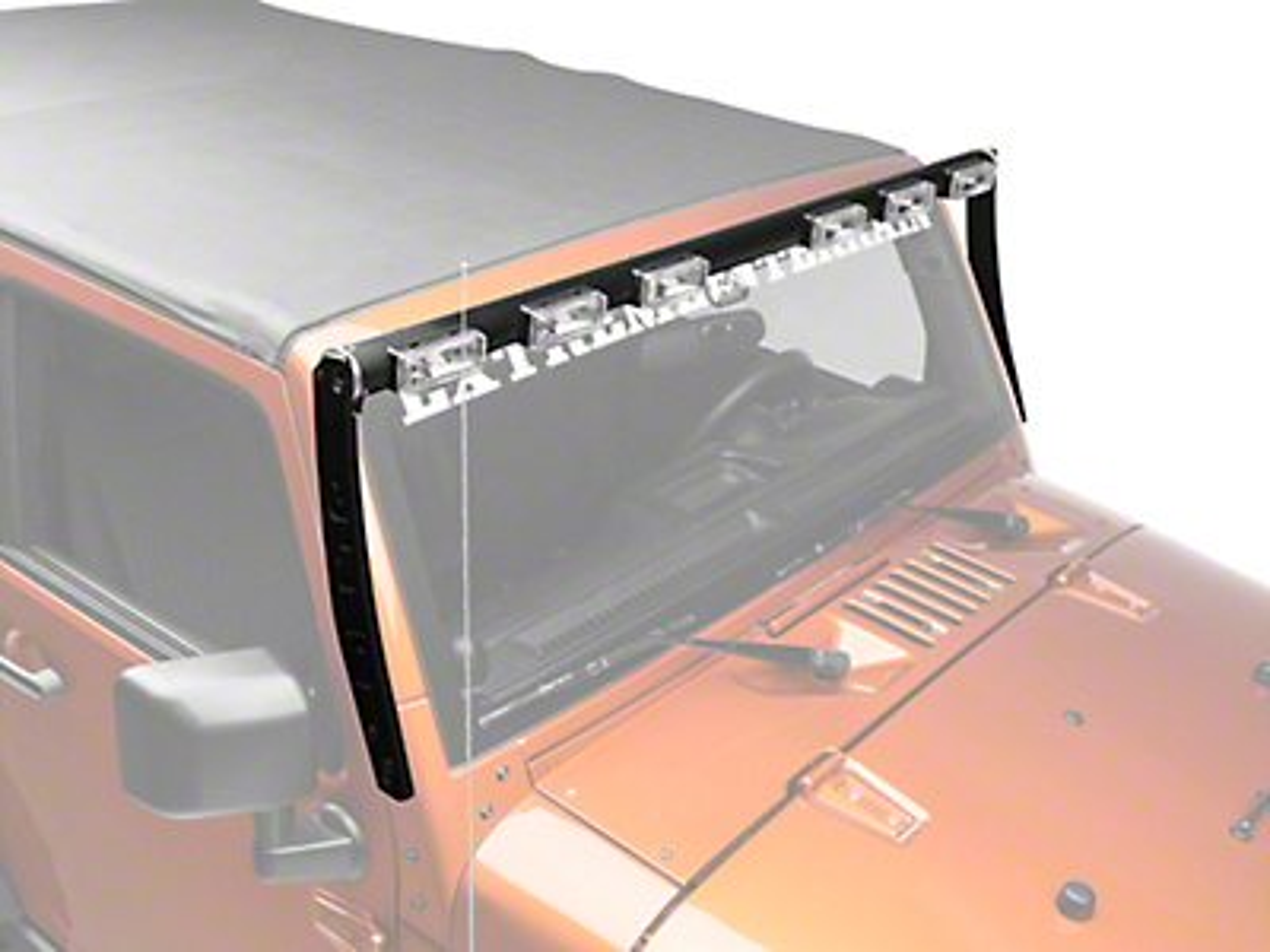 Delta Tubular LED SkyBar (07-18 Jeep Wrangler JK)
