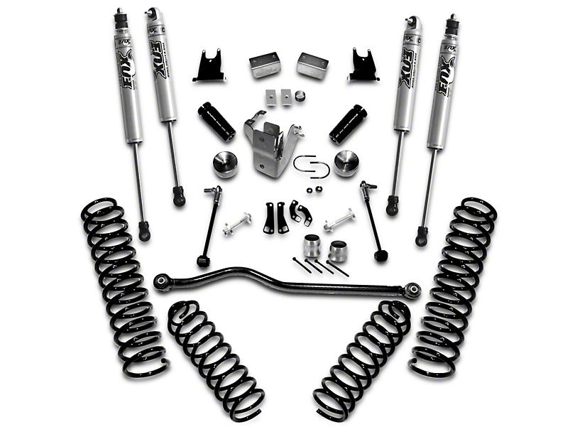 SuperLift 4 in. Suspension Lift Kit w/ Shocks (12-18 Jeep Wrangler JK 2 Door)