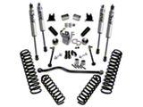 SuperLift 4-Inch Suspension Lift Kit with Shocks (07-18 Jeep Wrangler JK 4 Door)