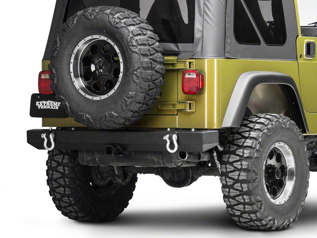 Barricade Classic Rear Bumper (87-06 Jeep Wrangler YJ/TJ)