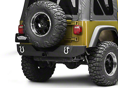 Barricade Trail Force HD Rear Bumper (87-06 Wrangler YJ/TJ)